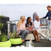 Balkon Teich