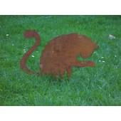 """Gartenfigur """"Katze"""""""