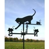 "Wetterfahne ""Katze"", klein"